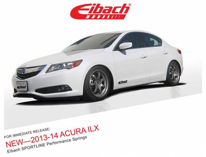 Product Releases  - 2013-14 ACURA ILX - SPORTLINE