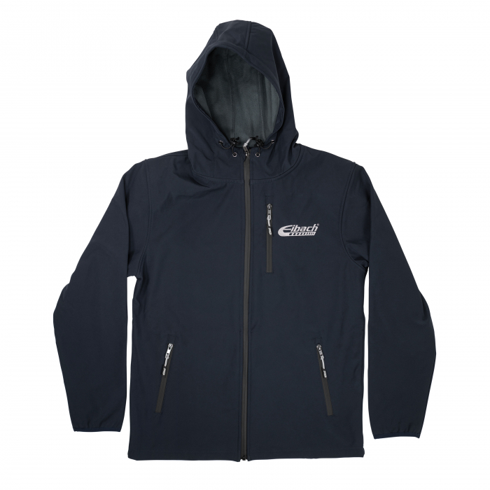 Jacket Eibach Mens Softshell - Navy - Image 1