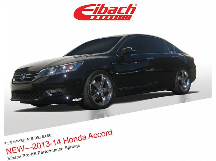 Product Releases  - 2013-14 HONDA ACCORD - PRO-KIT