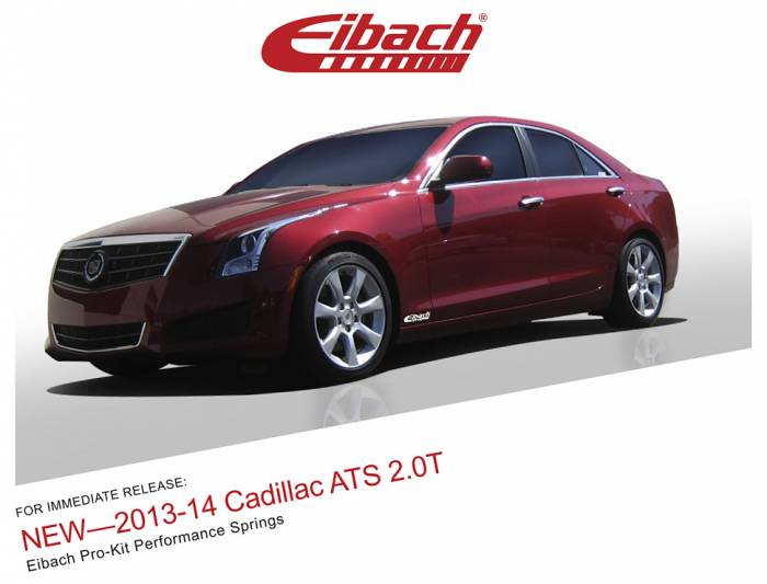 Product Releases  - 2013-14 Cadillac ATS 2.0T - PRO-KIT