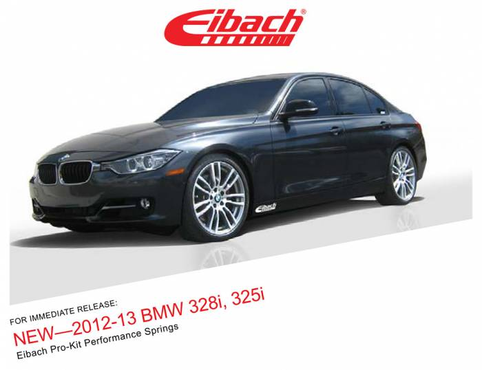 Product Releases - 2012-13 BMW 328I, 325I - PRO-KIT